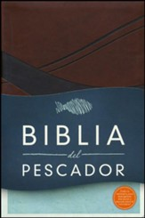 Biblia del Pescador RVR 1960, Símil Piel, Chocolate  (Fisher of Men Bible, Chocolate Imitation Leather)