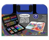 Sketch and Color Art Kit