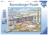 Construction at the Airport Puzzle, 100 Pieces