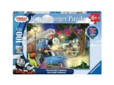 Traveling Thomas, Glow-in-the-Dark  Puzzle, 100 Pieces