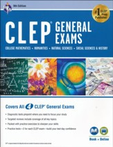 CLEP General Exam Book plus online