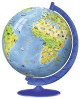 Children's World Globe 3D Puzzle, 180 Pieces