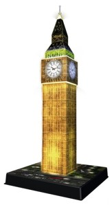 Big Ben, Night Version, 3D Puzzle, 216 Pieces