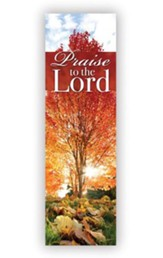 Praise the Lord Banner (2' x 6')