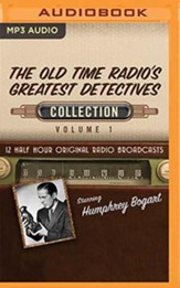 The Old Time Radio's Greatest Detectives Collection, Volume 1 - 12 Half-Hour Original Radio Broadcasts on MP3-CD