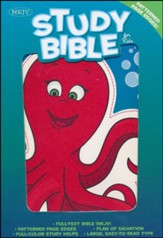 NKJV Study Bible for Kids, Octopus LeatherTouch