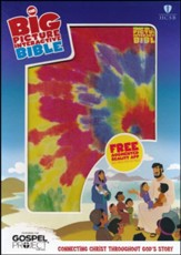 HCSB The Big Picture Interactive  Bible for Kids Multicolor Tie-Dye LeatherTouch