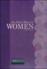 The Study Bible for Women, NKJV Edition, Teal and Sage LeatherTouch - Imperfectly Imprinted Bibles