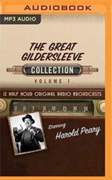 The Great Gildersleeve Collection, Volume 1 - 12 Half-Hour Original Radio Broadcasts (OTR) on MP3-CD