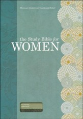 HCSB Study Bible for Women, Personal Size Edition, Teal and Sage LeatherTouch, Thumb-Indexed