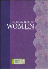 NKJV Study Bible for Women, Willow Green and Wildflower LeatherTouch