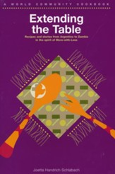 Extending the Table, softcover cookbook