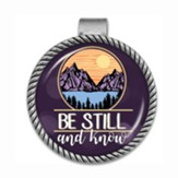 Be Still and Know Visor Clip