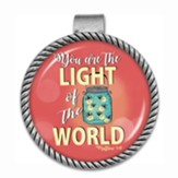 You Are the Light of the World Visor Clip
