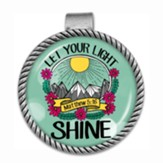 Let Your Light Shine Visor Clip