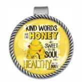 Kind Words Are like Honey Visor Clip