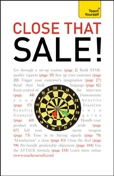 Close that Sale! : Teach Yourself / Digital original - eBook