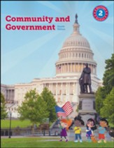 BJU Press Heritage Studies Grade 2 Student Edition:  Community and Government (4th Edition)