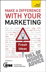 Make A Difference With Your Marketing: Teach Yourself / Digital original - eBook
