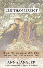 Less Than Perfect: Broken Men and Women of the Bible and What We Can Learn from Them - unabridged audiobook on MP3-CD