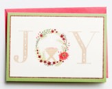 Joy, Advocate Art, Christmas Cards, Box of 18
