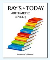 Ray's For Today Arithmetic Level 5 Instructor