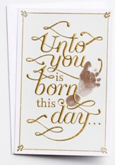 Unto You Is Born This Day Christmas Cards, Box of 18