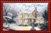 Thomas Kinkade Merry Christmas Cards, Box of 18