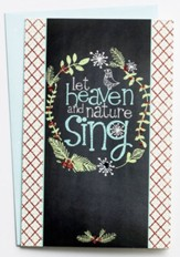 Let Heaven and Nature Sing Christmas Cards, Box of 18