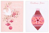 God's Peace To You/Christmas Peace Christmas Cards, Box of 24