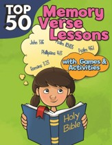 Top 50 Memory Verse Lessons with Games & Activities