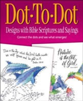 Dot-To-Dot Designs with Bible Scriptures and Sayings