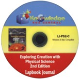 Apologia Exploring Creation With Physical Science 2nd Edition Lapbook Journal PDF CD-ROM