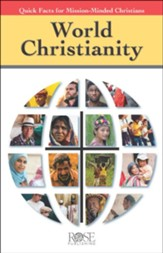 World Christianity: Quick Facts for Mission-Minded Christians - pamphlet - pack