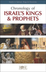 Chronology of Israel's Kings & Prophets Pamphlet - 5 Pack