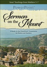 Sermon on the Mount--PowerPoint CD-ROM