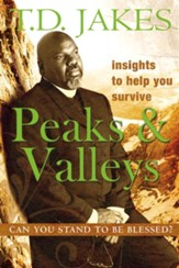 Insights to Help You Survive the Peaks and Valleys: Can You Stand to be Blessed? - eBook