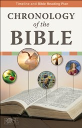 Chronology of the Bible: Timeline and Bible Reading Plan - Pamphlet