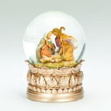 Holy Family, Musical, Water Globe