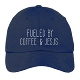 Fueled By Coffee and Jesus Cap, Navy