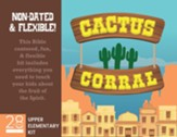 Cactus Corral Upper Elementary Kit: Lessons on the Fruit of the Spirit from Acts