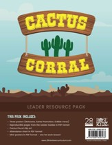 Cactus Corral Leader Resource Pack: Lessons on the Fruit of the Spirit from Acts