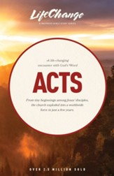 Acts, LifeChange Bible Study - eBook