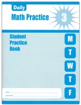 Daily Math Practice, Grade 3 Student  Workbook