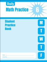 Daily Math Practice, Grade 6 Student  Workbook