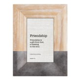 Friendship, Proverbs 17:17 Framed Art