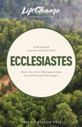 Ecclesiastes, LifeChange Bible Study - eBook
