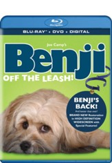Benji: Off the Leash, Blu-ray + DVD + Digital