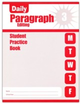 Daily Paragraph Editing, Grade 3  Student Workbook
