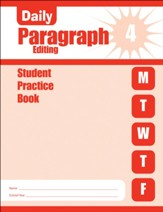 Daily Paragraph Editing, Grade 4  Student Workbook